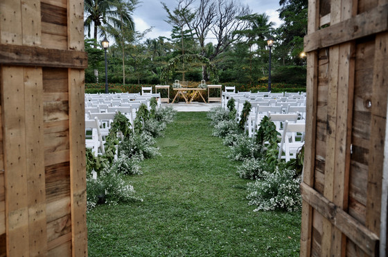 A Garden Wedding is the Dream, But What if it Rains?
