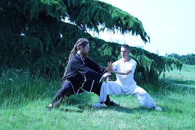 Tai Chi strength training in Greenwich Park