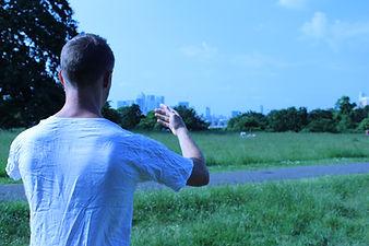 tai chi meditation in Greenwich Park