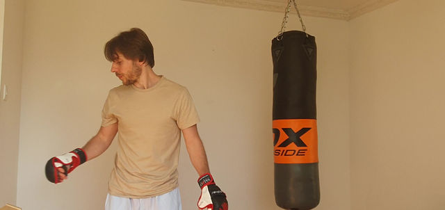 transition to the heavy bag