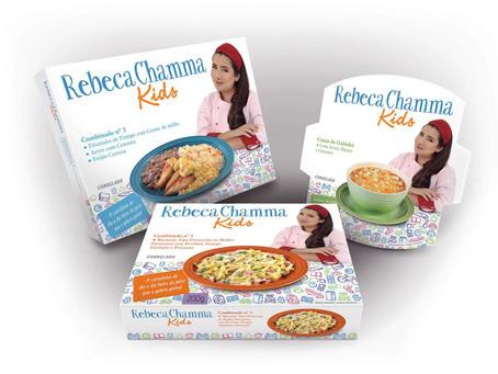 Chefe mirim, Rebeca Chamma lança linha de comida congelada