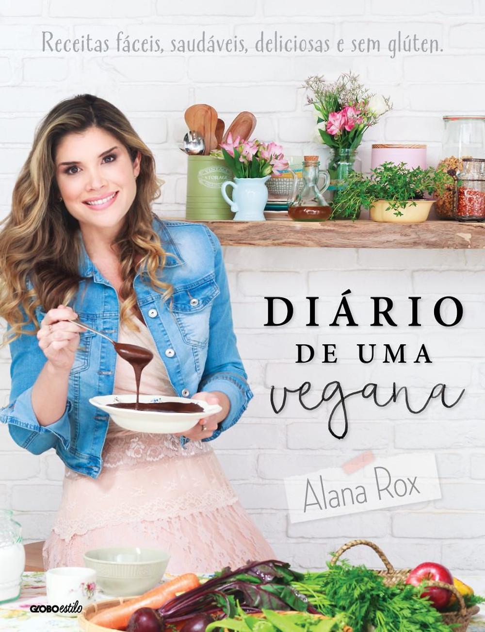 No livro, Alana assina receitas veganas e saborosas