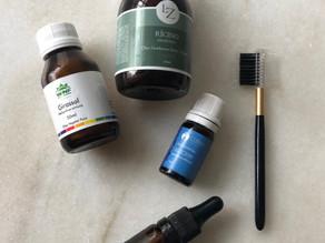 Receita: sérum natural para fortalecer e hidratar as sobrancelhas