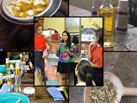 Workshop Slow Beauty I e II em São Paulo: fatos e fotos