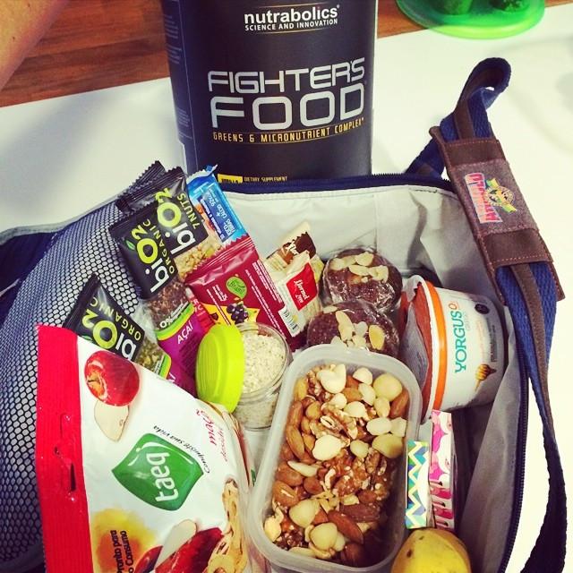 Alê Luglio posta no Instagram suas lancheiras e marmitas (Foto: reprodução)