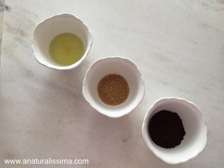 DIY: esfoliante corporal natural de café anti-celulite