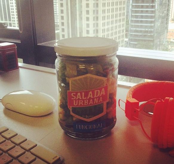 Testamos a salada da Salada Urbana ( Foto: a Naturalíssima)