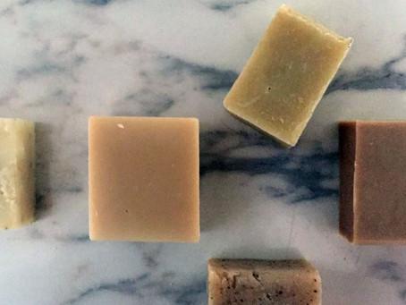 Sabonetes artesanais e naturais: barrinhas curativas da pele e da alma