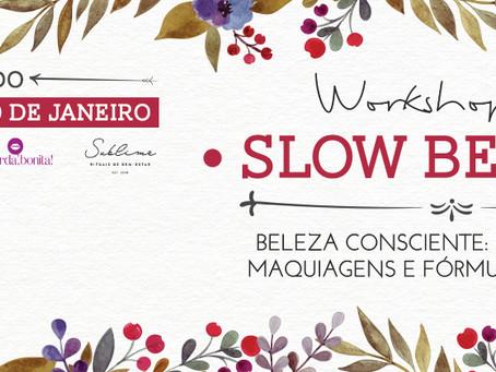 Slow Beauty: workshop em SP aborda cosméticos e fórmulas artesanais