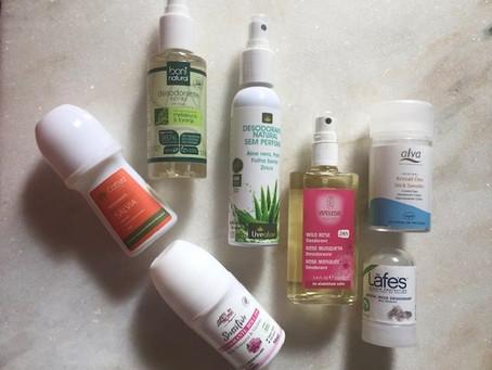 Testei oito desodorantes veganos e orgânicos