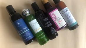 Top cinco shampoos líquidos clean, naturais e veganos