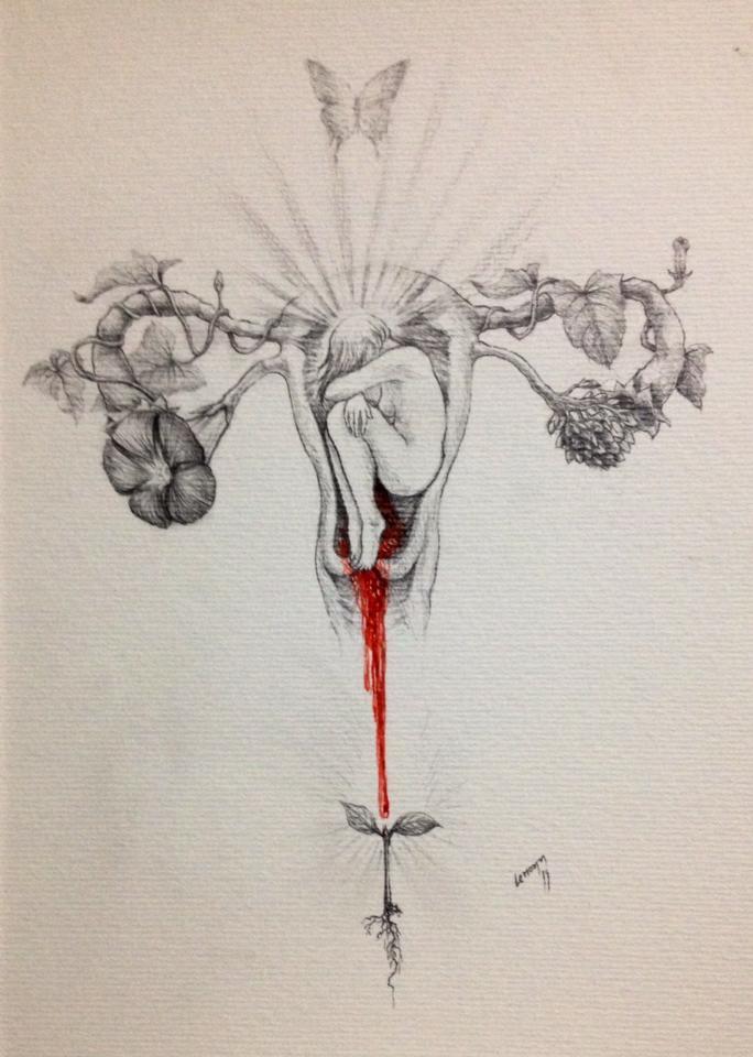 menstruação sagrado feminino