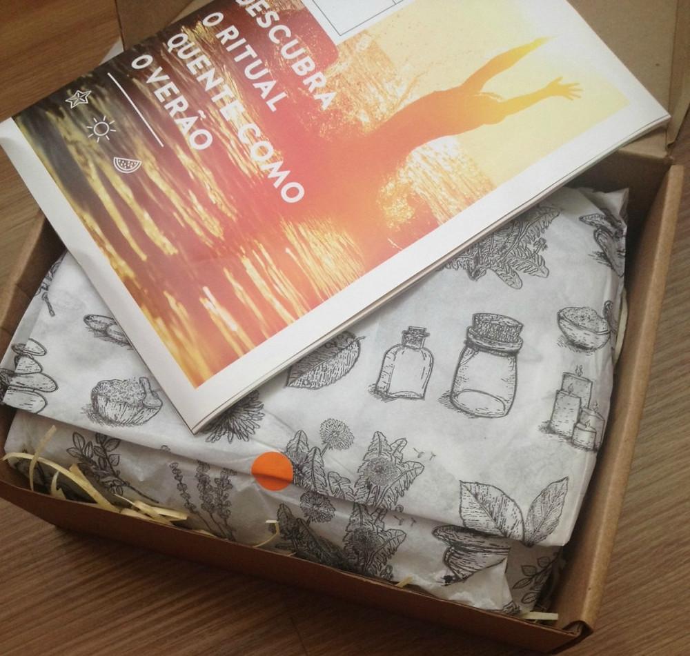 box ritual sublime cosméticos