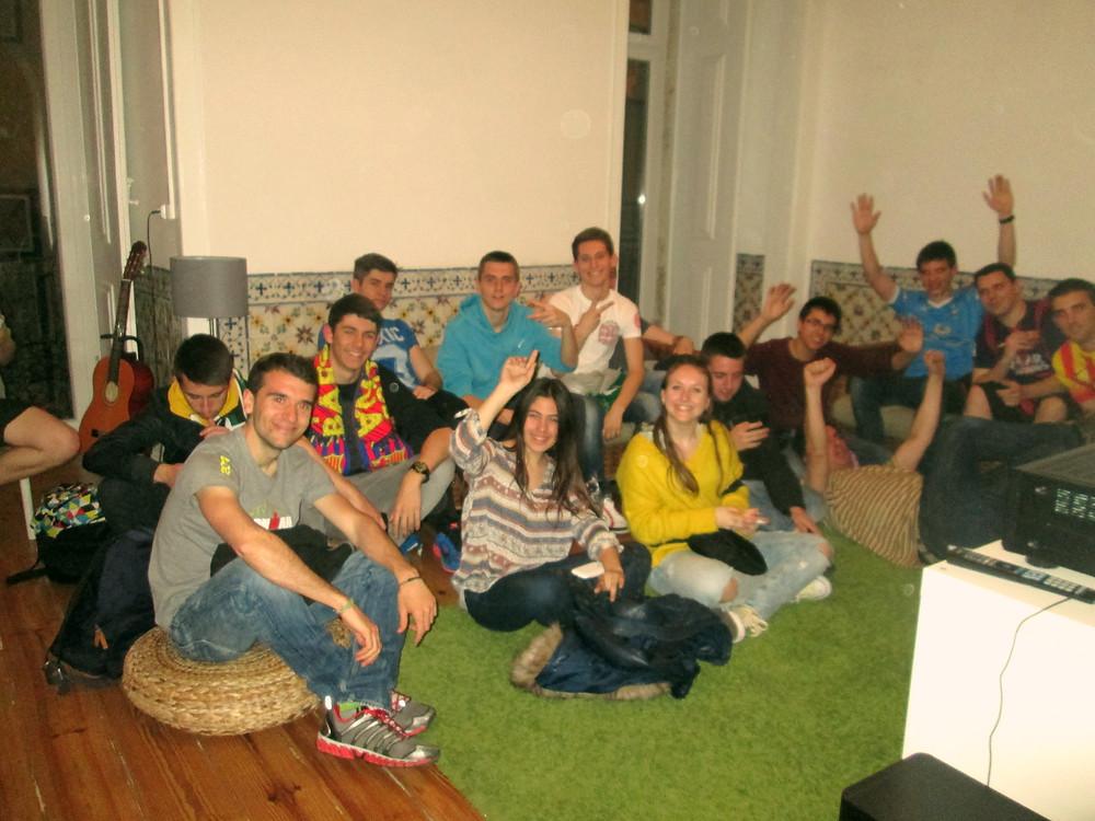 Football nights in Lisbon