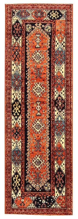 """Afghan Caucasian - 2'0"""" x 6'4"""""""