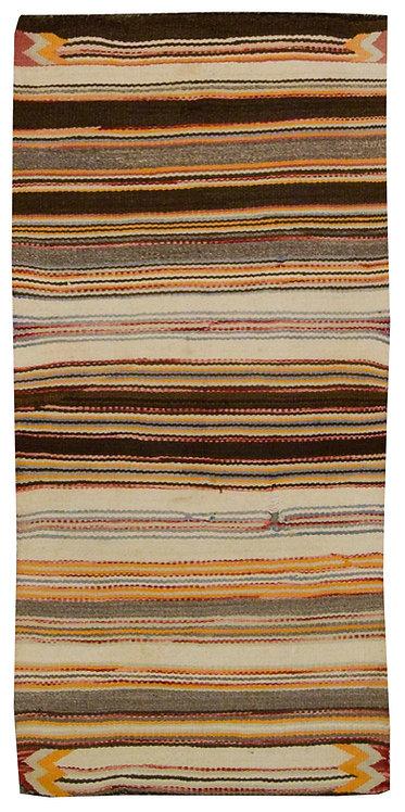 "Native American Saddle Blanket - 30"" x 62"""