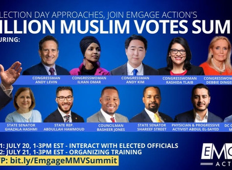 Marcus Goodwin to address Muslim voters alongside Joe Biden for national voters summit