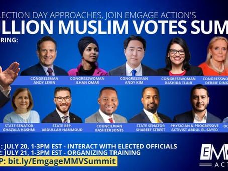 Marcus Goodwin to address Muslim voters alongside Joe Biden for national voters summit