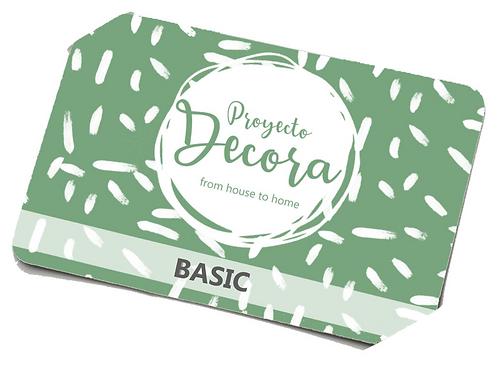 Tarjeta Regalo Decora BASIC