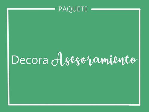 Paquete DECORA ASESORAMIENTO