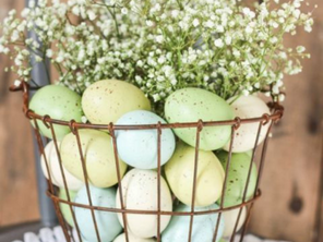 Hope, happiness, and DIY Easter decor
