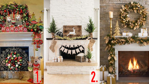 10 Holiday Fireplace Ideas to Inspire you.