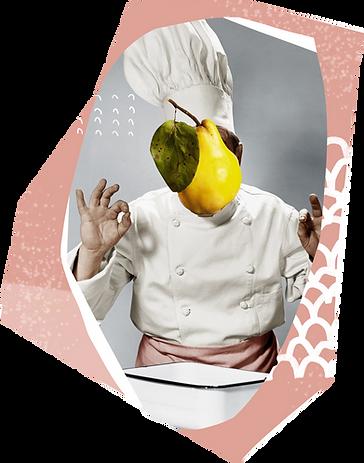 Cozinhe Colagem