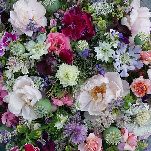 Cottage Garden bouquet. Prices from -