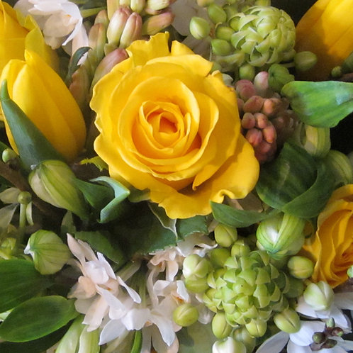 Scented, spring lemons, greens and whites. Prices from -
