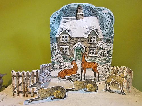 Deer Advent calendar