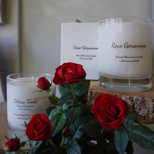 Add a Scented Candle to your bouquet or planter.