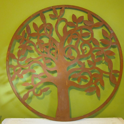 Tree wall plaque