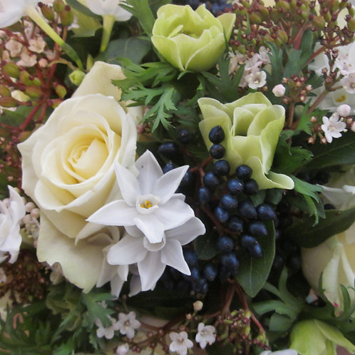 Winter Whites Bouquet. Prices from -