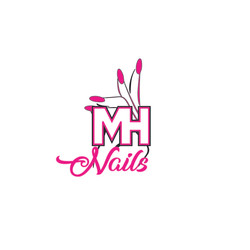 MH Nails - Logo Design