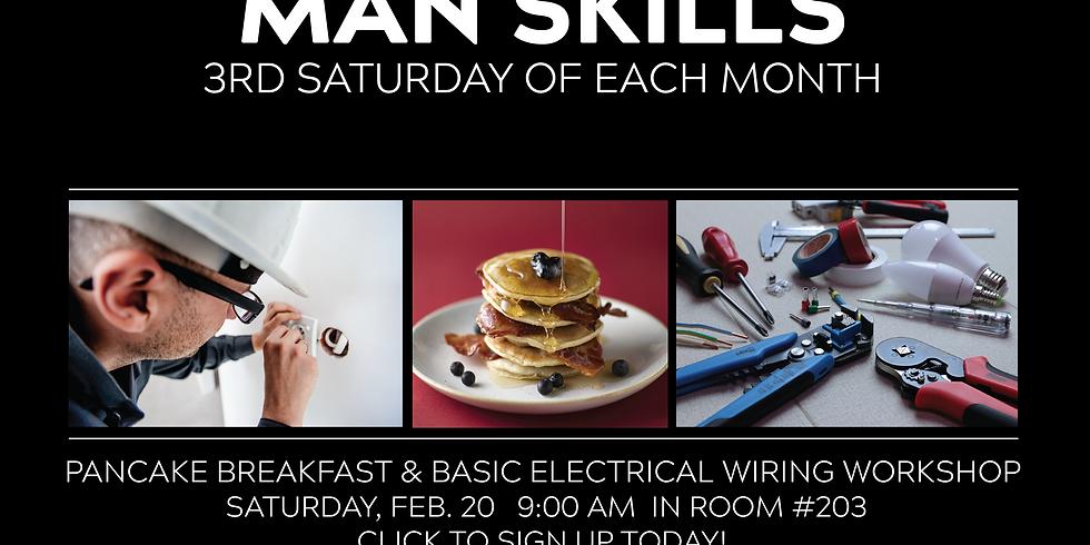 MAN SKILLS: Home Electrical