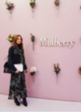 Floral dress personal stylist image consultant london about me keren beaumont fashion show mulberry