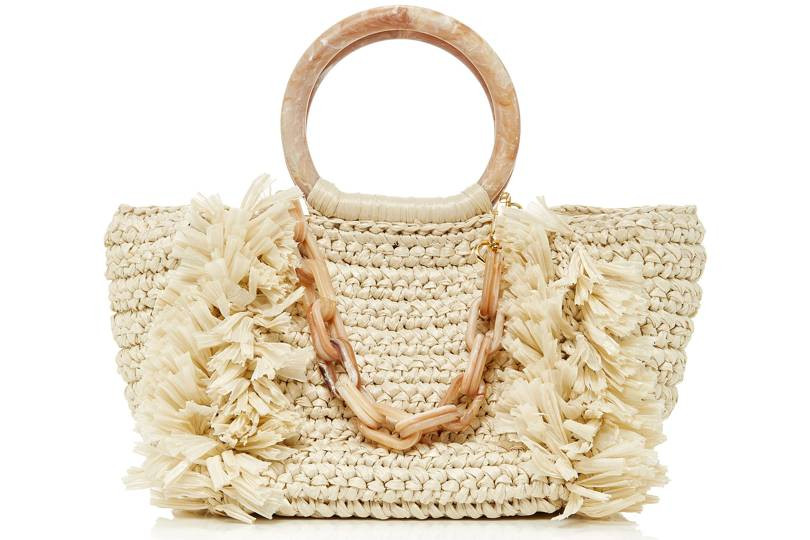 Wicker bag basket holiday wardrobe personal stylist london