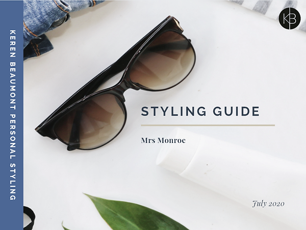 Online Styling, Online Colour and Shape Analysis