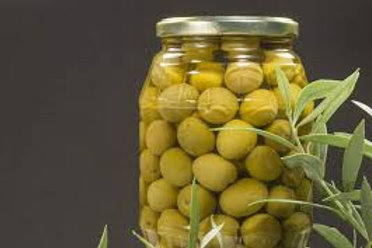 Organic Cultivation Olives in salt water - 318gr