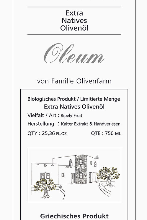 Extra Virgin Olive Oil   Limited Quantity 750 ml