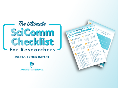How to gauge your research impact: the SciComm Checklist