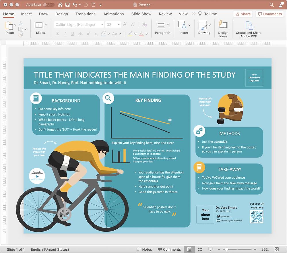 interactive scientific poster ePoster PowerPoint