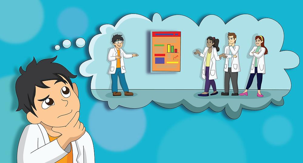 scientific poster colour scheme and templates