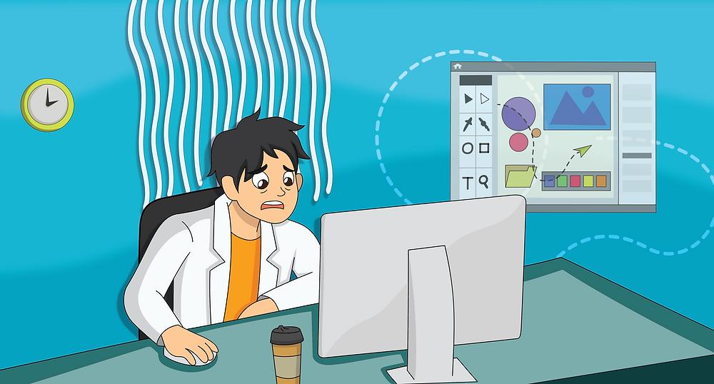 scientific poster illustration software graphics