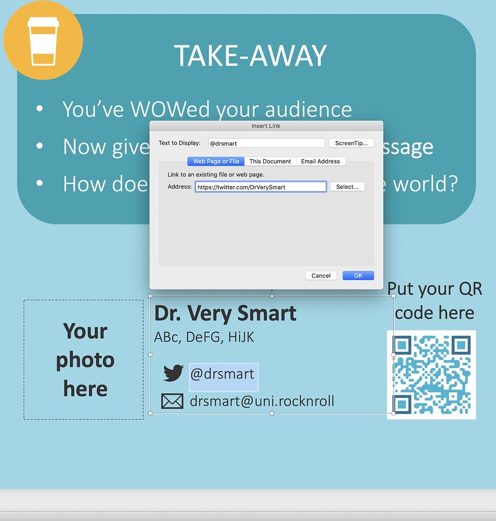 PowerPoint interactive scientific poster ePoster