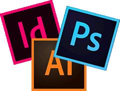 adobe illustrator photoshop indesign logo