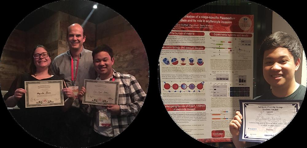 scientific conference award winner malaria