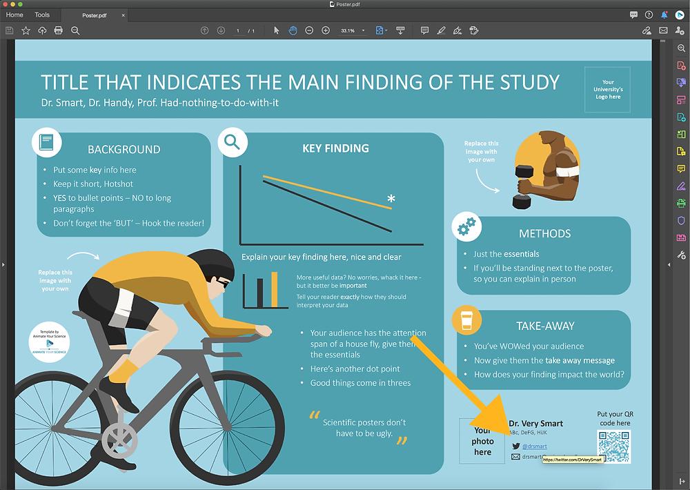 interactive scientific poster ePoster