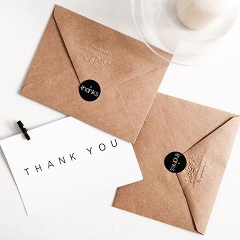 There is so much to be thankful for! #handmade #stationery #kraftcards #thankyou #simplicity #beauty