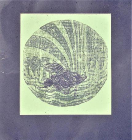 John Dory Wood Cut Print